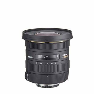 Sigma 10-20mm f/3.5 EX DC (F)