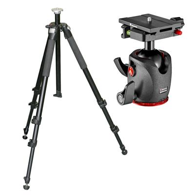 Manfrotto trípode foto + ball head
